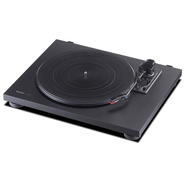 TEAC Black 3-speed Belt-driven Turntable