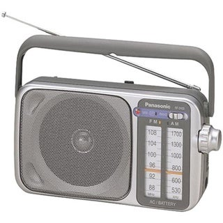 Panasonic RF-2400 Silver AM/FM Radio