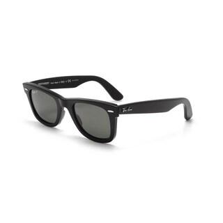 Ray-Ban RB2140 901/58 Original Wayfarer Classic Black Frame Polarized Green Classic 54mm Lens Sunglasses