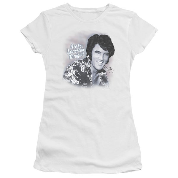 Elvis/Lonesome Tonight Junior Sheer in White