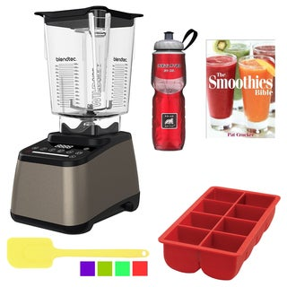 Blendtec Designer 675 Blender with WildSide Jar Accessory Bundle - Champagne