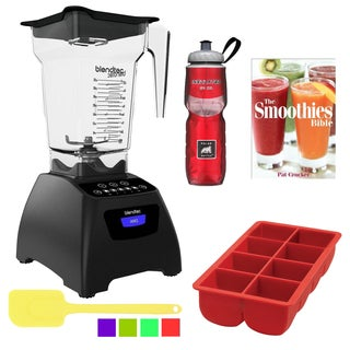 Blendtec FourSide Classic 575 Blender Accessory Bundle - Black