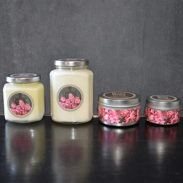 Baxter Manor Lilac Candle