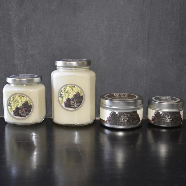 Baxter Manor Black Raspberry Vanilla Candle