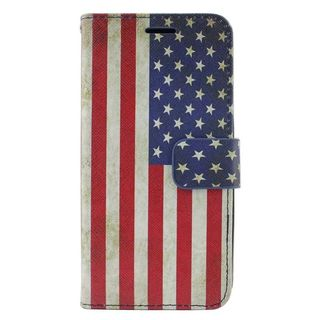 Insten Colorful United States National Flag Leather Case Cover with Stand/ Wallet Flap Pouch For Samsung Galaxy Grand Prime
