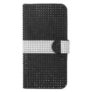 Insten Leather Diamond Bling Case Cover with Wallet Flap Pouch For Apple iPhone 6 Plus/ 6s Plus