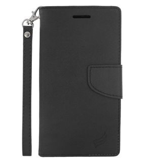 Insten Leather Case Cover Lanyard with Stand/ Wallet Flap Pouch/ Photo Display For LG G4