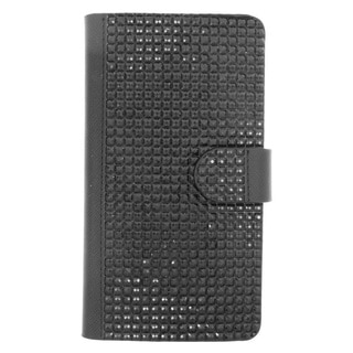 Insten Leather Rhinestone Bling Case Cover with Wallet Flap Pouch For LG G4
