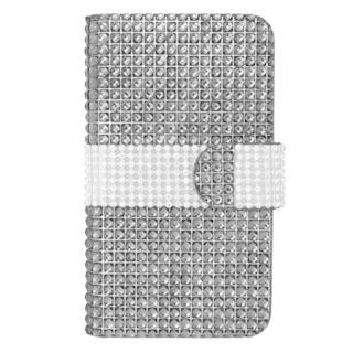 Insten Leather Rhinestone Bling Case Cover For LG Optimus Exceed 2 VS450PP Verizon/ Optimus L70/ Realm