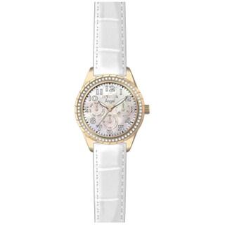 Invicta Women's 12608 Angel Quartz Multifunction White Dial Watch