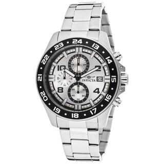 Invicta Men's 13866 Pro Diver Quartz Multifunction Silver Dial Watch