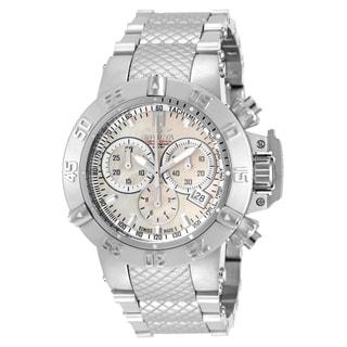 Invicta Women's 14598 Jason Taylor Quartz Chronograph White Dial Watch