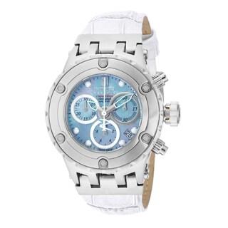 Invicta Women's 14607 Jason Taylor Quartz 3 Hand Platinum Dial Watch