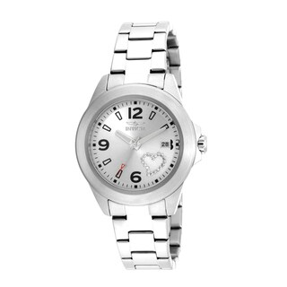 Invicta Women's 16326 Specialty Quartz 3 Hand Silver Dial Watch