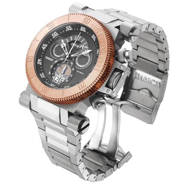 Invicta Men's 17645 Coalition Forces Quartz Chronograph Gunmetal Dial Watch 18913270