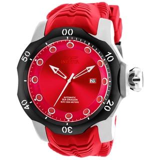 Invicta Men's 19302 Venom Automatic 3 Hand Red Dial Watch
