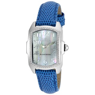 Invicta Women's 19520 Lupah Quartz 3 Hand White Dial Watch