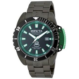Invicta Men's 19871 Pro Diver Automatic 3 Hand Black Dial Watch