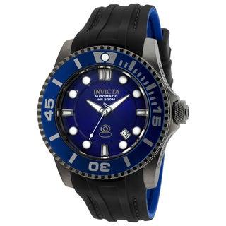 Invicta Men's 20204 Pro Diver Automatic 3 Hand Blue Dial Watch