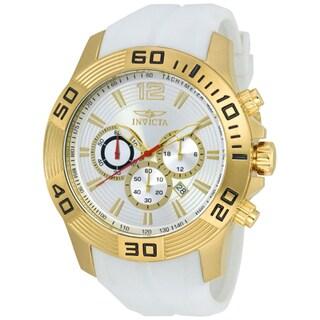 Invicta Men's 20298 Pro Diver Quartz Silver Dial Watch
