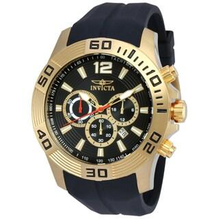 Invicta Men's 20300 Pro Diver Quartz Chronograph Black Dial Watch