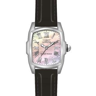 Invicta Men's 20458 Lupah Quartz 3 Hand White Dial Watch