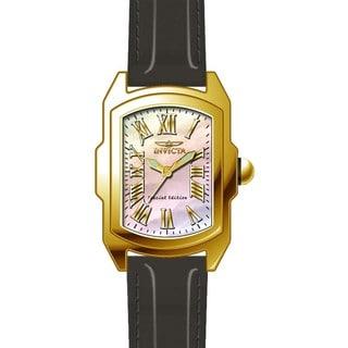 Invicta Women's 20457 Lupah Quartz 3 Hand White Dial Watch
