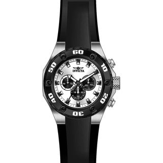 Invicta Men's 21403 Specialty Quartz Multifunction Silver Dial Watch