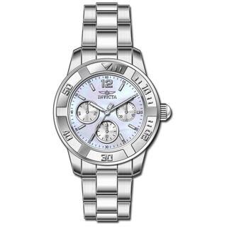 Invicta Women's 21663 Angel Quartz Chronograph Platinum Dial Watch