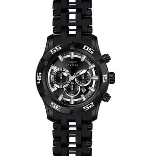 Invicta Men's 21824 Sea Spider Quartz Chronograph Black Dial Watch