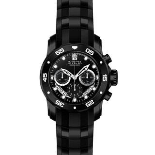 Invicta Men's 21930 Pro Diver Quartz Multifunction Black Dial Watch