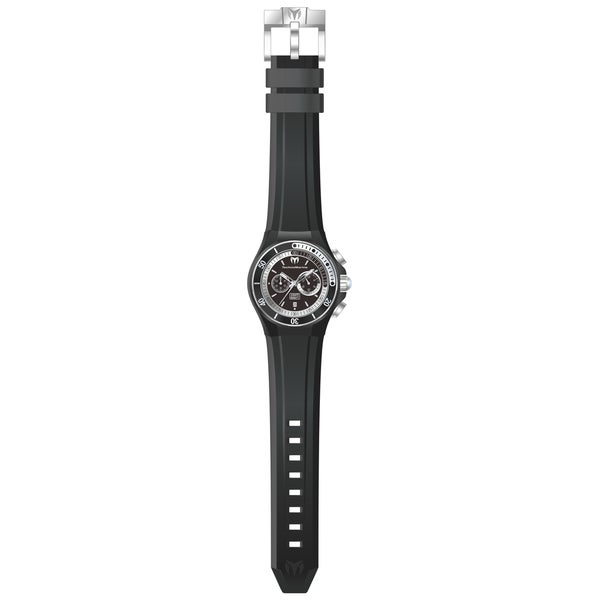 Technomarine Men's TM-115159 Cruise Sport Quartz Multifunction Black Dial Watch