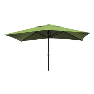 Escada Designs Kiwi Green 10' x 6' Rectangular Patio Umbrella