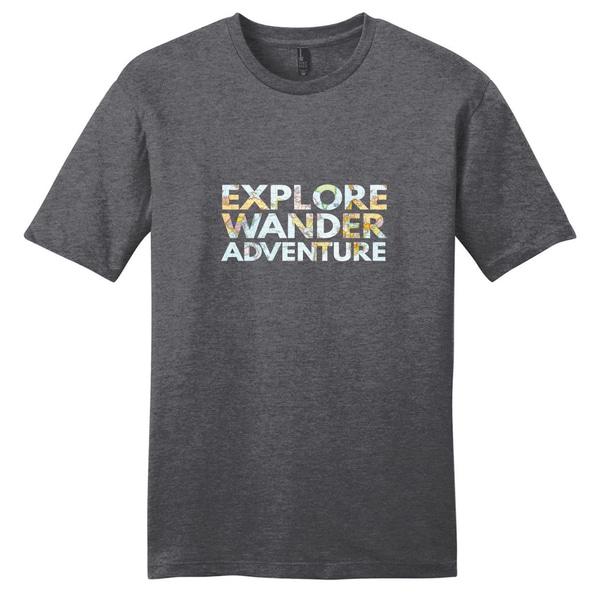 Explore Wander Adventure Shirt Unisex T-shirt