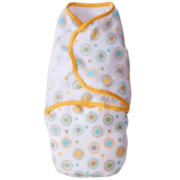Summer Infant Orange Circle Burst SwaddleMe