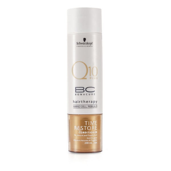 Schwarzkopf Q10 Plus BC Cure 6.8-ounce Time Restore Hair Conditioner