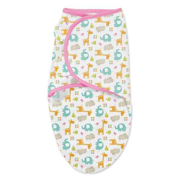 Summer Infant's Jungle Pink Single SwaddleMe