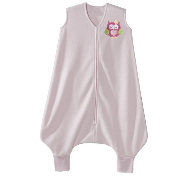 Halo Early Walker Owl Pink Micro-fleece Large SleepSack