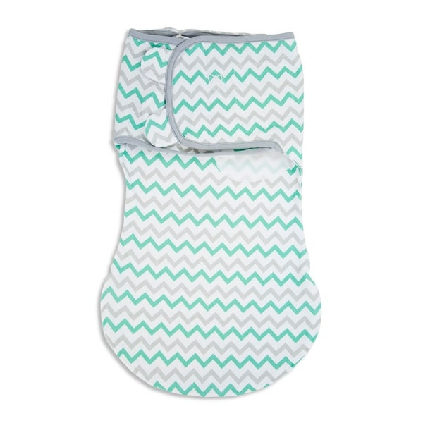Summer Infant's Teal and Grey Cotton SwaddleMe WrapSack 18916511