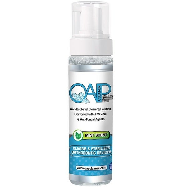 OAP 6-Month Supply Mint Foam Cleaner for Removeable Dental and Ortho Appliances