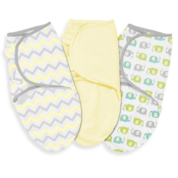 Summer Infant Chevron Splash Large SwaddleMe (Pack of 3)