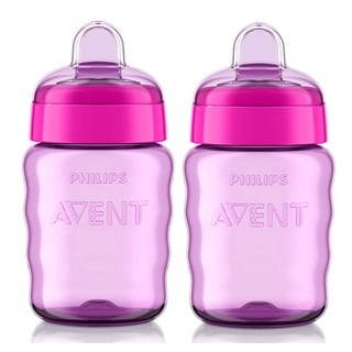 Philips Avent My Easy Sippy Purple 9-ounce Cups (Pack of 2)