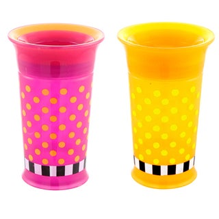 Sassy Plastic 9-ounce Grow Up Double Pack Cup