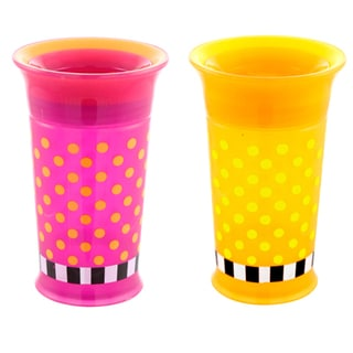 Sassy Plastic 9-ounce Grow Up Double Pack Cup 18916823