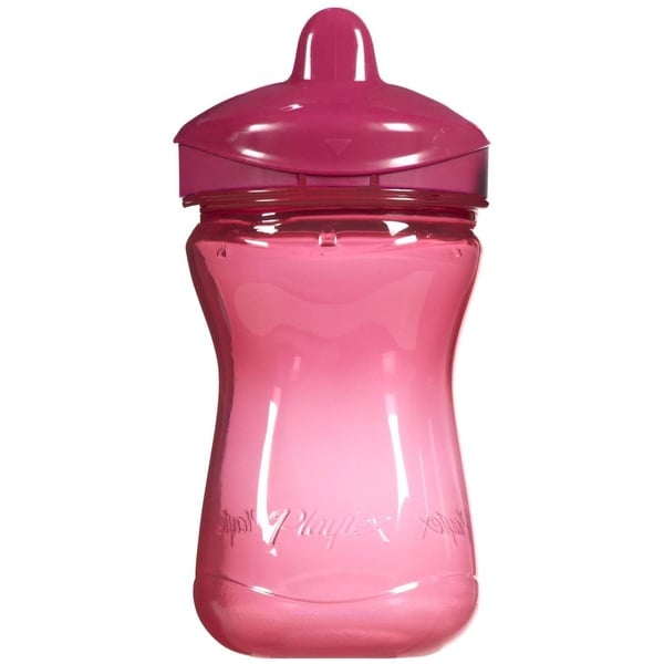 Playtex Anytime Pink Plastic 9-ounce Spill-proof Spout Cup 18916917