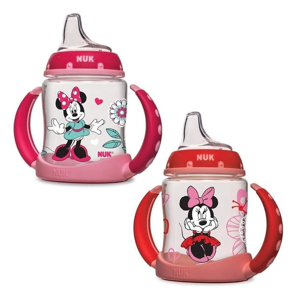 Nuk Disney Minnie Mouse Pink Plastic Learner 5-ounce Cup 18916945