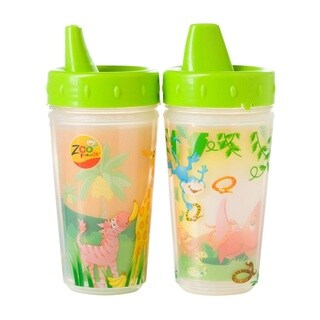 Evenflo Zoo Friends Plastic 10-ounce Insulated Sippy Cups (Pack of 2)