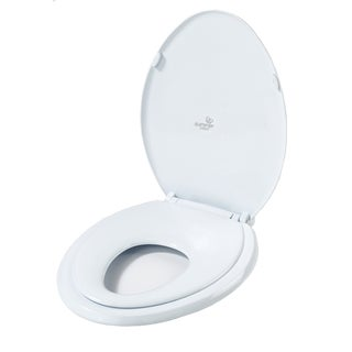 American Baby Company Summer Infant White Plastic Oval 2-in-1 Potty Topper