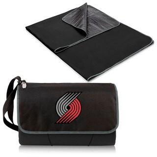Picnic Time Portland Trailblazers Black Polyester/Plastic Portable Blanket Tote