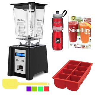 Blendtec WildSide Professional 750 Blender Accessory Bundle - Black
